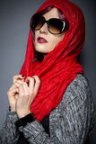 Modern Hijab Fashion Royalty Free Stock Photography