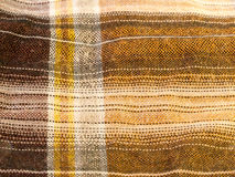 Modern hip check colored shirt fabric cotton wool up close textu Royalty Free Stock Photos