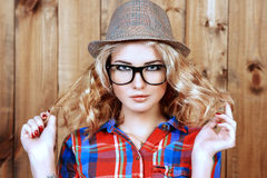 Modern hipster Stock Photography