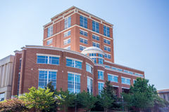 Modern and historic architecture at college campus Stock Photography
