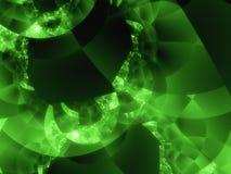 Modern hitechdesign - grön värld Royaltyfri Bild