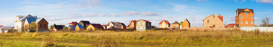 Modern holiday village in Russia Stock Photo