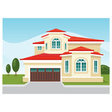 Modern Home Stock Photography