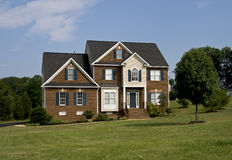 Modern home Royalty Free Stock Photography
