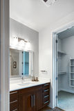 Modern Home Bathroom Stock Images