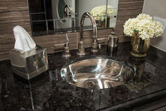 Modern Home Bathroom Vanity Stock Photography