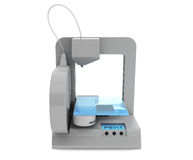 Modern Home 3d printer Royalty Free Stock Image