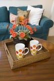 Modern home decor. Royalty Free Stock Image
