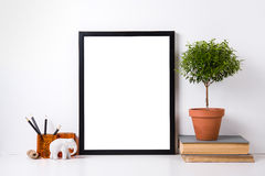 Modern home decor mock-up Royalty Free Stock Photography