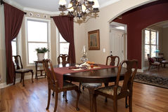 Modern Home/Entry/Dining Room Royalty Free Stock Photography