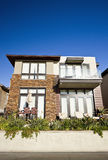 Modern Home Exterior Royalty Free Stock Photography