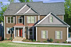Modern Home Exterior Front royalty free stock images