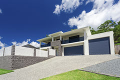 Modern home exterior Stock Photo