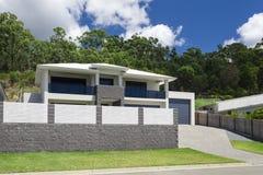 Modern home exterior Stock Photography