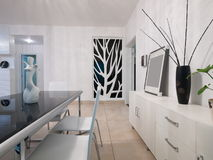 Modern home interior Royalty Free Stock Photo