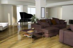 Modern home interior Stock Photo