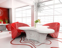Modern home interior Stock Image