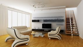 Modern home interior Stock Photography