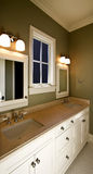 Modern home interior bathroom Royalty Free Stock Image