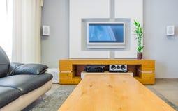 Modern Home Interior Design Royalty Free Stock Photos