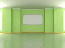 Modern home interior with painting. 3D. Stock Image