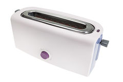 Modern home kitchen toaster. For morning breakfast. Royalty Free Stock Image