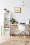 Modern home office area Royalty Free Stock Photography