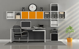 Modern home office Royalty Free Stock Photography
