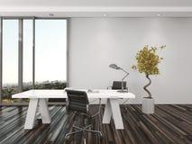 Modern home office interior design Royalty Free Stock Photos