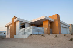 Modern Home Outside Stock Photography