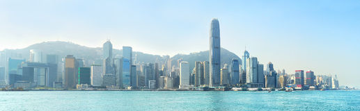 Modern Hong Kong royalty-vrije stock afbeelding