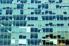 Modern hoofdgebouw bij campus Royalty-vrije Stock Fotografie