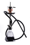 Modern hookah isolated on white background Royalty Free Stock Photo