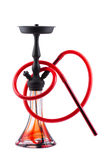 Modern hookah isolated on white background Royalty Free Stock Images