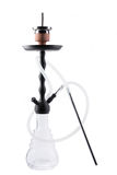 Modern hookah isolated on white background Royalty Free Stock Photos
