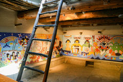Modern Hopi Kiva Mural Royalty Free Stock Images