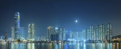 modern horisont för stad Arkivbilder