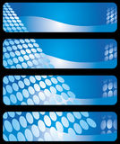 Modern horizontal banners Royalty Free Stock Image