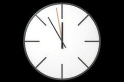 Modern Horlogegezicht Stock Afbeelding