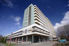 Modern hospital Royalty Free Stock Photo