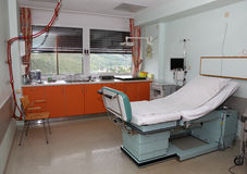 Modern hospital room Stock Photography