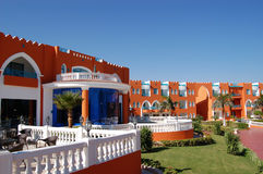 Modern hotel. In sharm el shekh Stock Photos