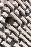 Modern hotel building detail Royalty Free Stock Images