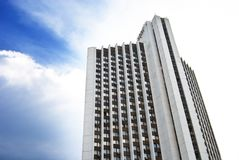 Modern hotel building in Kiev, Ukraine Stock Photography