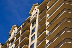 Modern hotel facade Royalty Free Stock Photography
