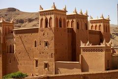 Modern hotel follows the ancient Kasbah, Morocco Royalty Free Stock Photos