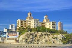 Modern hotel in Havana, Cuba, Caribbean Stock Image