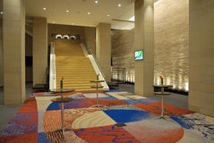 Modern Hotel Interior Royalty Free Stock Photo