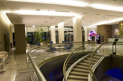 Modern Hotel Lobby Furniture Stock Photos