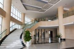 Modern hotel lobby Stock Photo